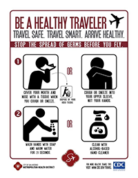 Be a Healthy Traveler