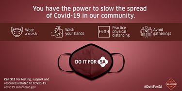 You have the power to slow the spread of Covid-19 in our community.